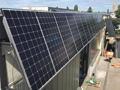 Solar roof - solar panels