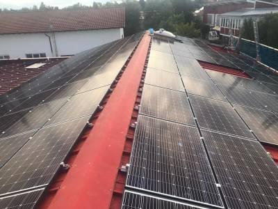 Solar roof - solar energy