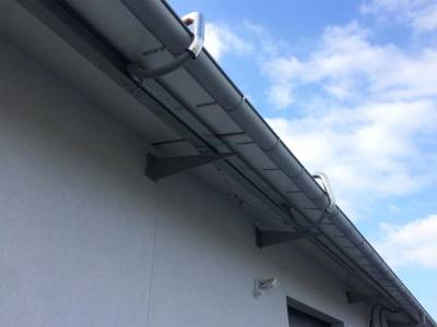 Solar roof - energy cables
