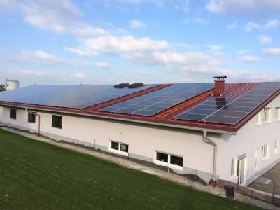 Solar energy - finished roof