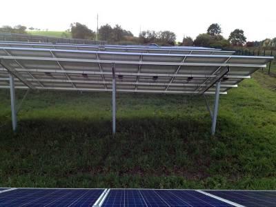Solar field setting