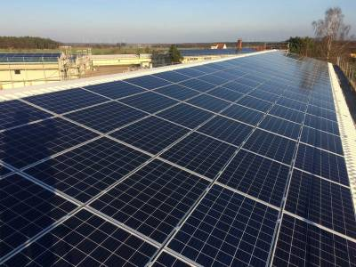 Solutions for solar energy - finished project