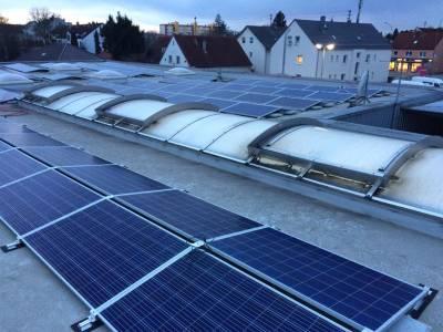 Solar plant connection