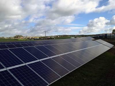 Big solar plant